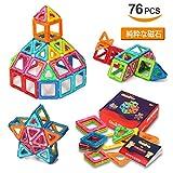 最安|高評価!QuadPro 磁石ブロック 知育玩具 76ピース