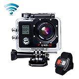 Campark®ACT76 アクションカメラ 4K 30fps ウルトラHD アクションカム スポーツカメラ ウェアラブルカメラ 防水 防塵 ハイスペックカメラ 高画質 予備バッテリープレゼント