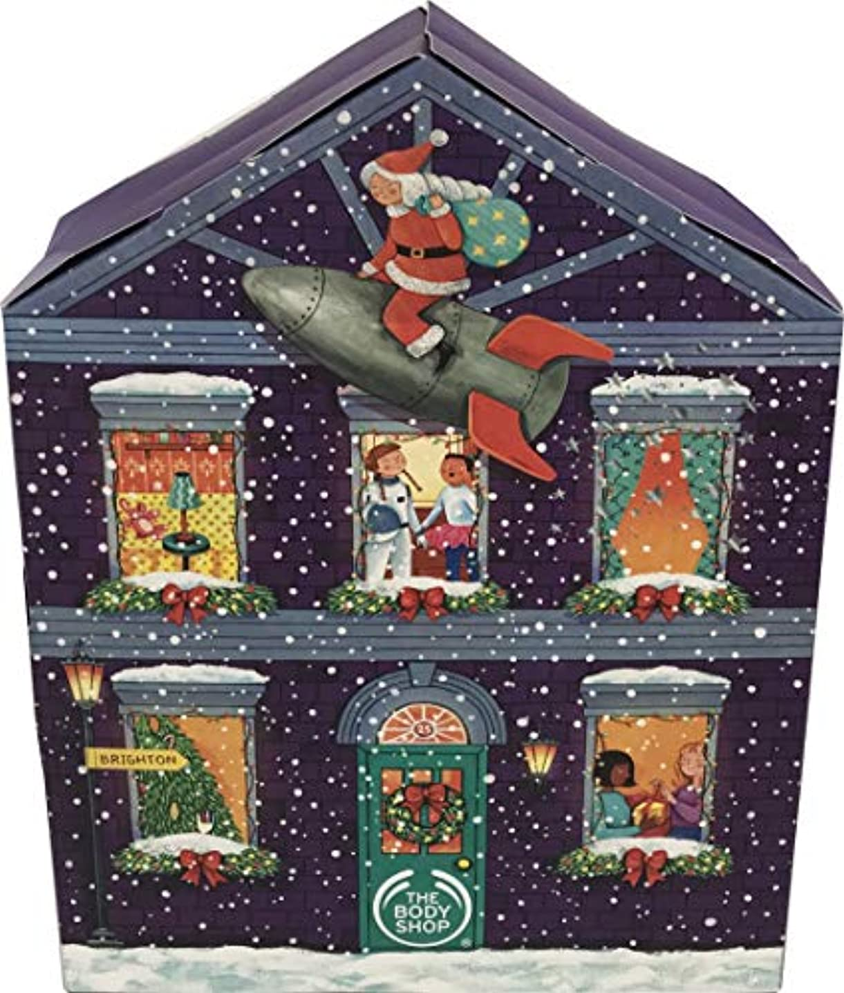 亜熱帯資産思慮深い[ザ?ボディショップ] クリスマ スアドベントカレンダー 2019 発売開始 海外直送品