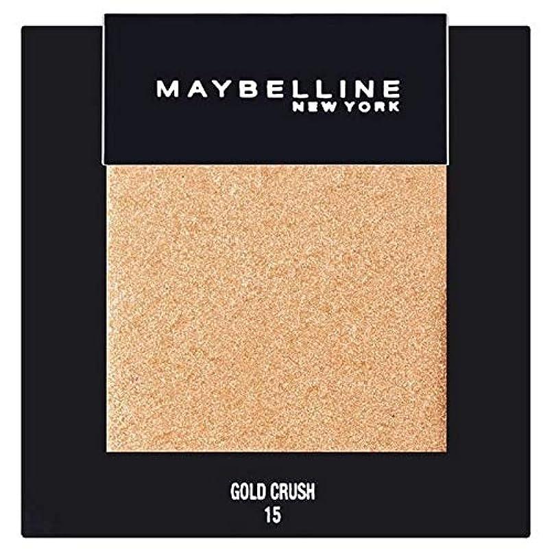 低いジュース。[Maybelline ] メイベリンカラーショーシングルアイシャドウ15金クラッシュ - Maybelline Color Show Single Eyeshadow 15 Gold Crush [並行輸入品]