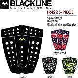 2016 BLACKLINE ブラックライン サーフィン用デッキパッド 5-PIECE TR422 5ピース デッキパッチ (RYL/RED)