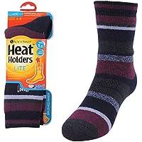 Heat Holders Women's Warm Winter Thermal Lite Striped Socks