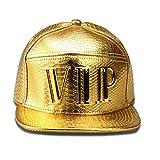 VIP合金ヒップホップSwag野球キャップスナップバックキャップGorras通気性帽子