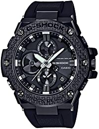 [カシオ]CASIO 腕時計 G-SHOCK ジーショック G-STEEL Carbon Edition スマートフォンリンクモデル GST-B100X-1AJF メンズ