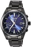 [アストロン]ASTRON 腕時計 ASTRON GPSソーラー電波 ワールドタイム機能 チタンモデル ネイビー文字盤 SBXB111 メンズ