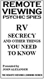 Rv Psychic Spies: Rv Secrecy & Other Things You [VHS] [Import]