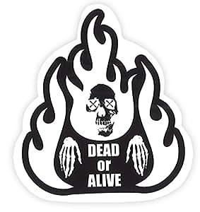 TOYO MARK [ 東洋マーク製作所 ] ステッカー DEAD or ALIVE [ 品番 ] R800