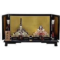 雛人形 平飾り木目込み親王 本金華鳳雛1827 幅60cm 3mk24 真多呂 伝統的工芸品