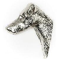 スムースフォックステリア イギリス製 アート ドッグ ピンバッジ コレクション