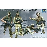 トランペッター 1/35 米海兵隊 イラク戦争 2003 プラモデル