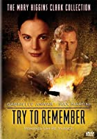 Mary Higgins Clark: Try to Remember [DVD] [Import]