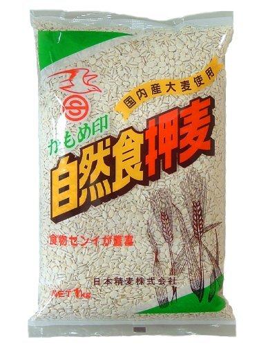 日本精麦 かもめ印 自然食押麦 1kg ×10袋 【10kg...