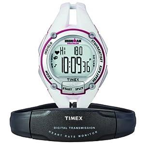 タイメックス TIMEX アイアンマン ハートレートモニター 50ラップ ミッドサイズ ホワイト T5K448 ユニセックス