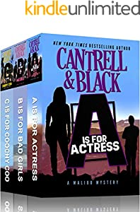 """A"" is for Actress, ""B"" is for Bad Girls, ""C"" is for Coochy Coo: Three Humorous Cozy Mysteries in One! (Malibu Mysteries Box Set Book 1) (English Edition)"