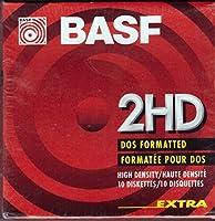 新しいBASFフロッピーディスク2hd DOS」両面3.5