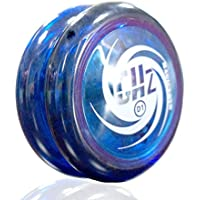 MAGICYOYO 2015 New GHZ D1 Blue Yo-yo Ball Professional Yo-yo with Glove for Boys Girls Children Kids [並行輸入品]