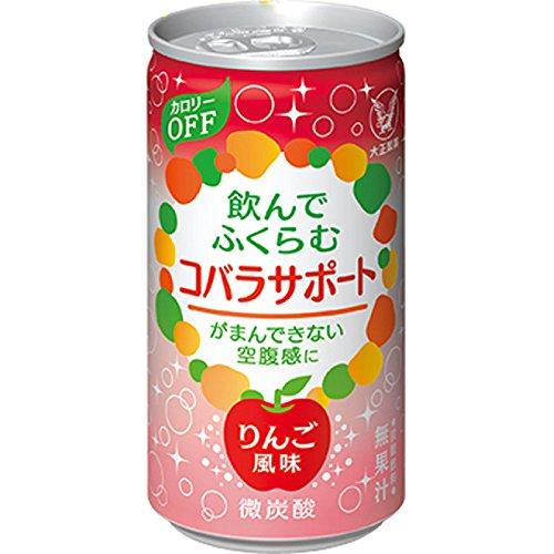 大正製薬 コバラサポート 185mL × 30缶セット (りんご風味)