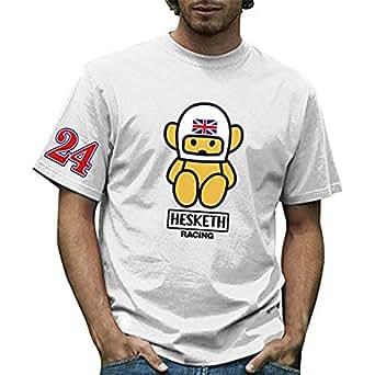RETRO GP ヘスケス メンズTシャツ Hesketh Mens T-shirt02 (M)