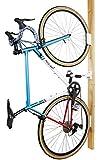 サイクルロッカー(CycleLocker) 壁掛け縦置き自転車スタンドハンガー「クランクストッパーウォールCSW-01」 (BLACK)