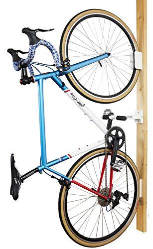 バイク 自作 ロード スタンド 壁掛けロードバイクスタンドをアルミパイプでDIY!