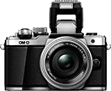 OLYMPUS ミラーレス一眼カメラ OM-D E-M10 MarkII EZダブルズームキット シルバー 画像