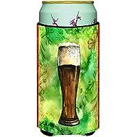 Caroline 's Treasures Irish BeerダークTall Boy Beverage Insulator Hugger ,マルチカラー