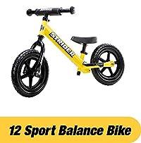STRIDER(ストライダー) 12 SPORT (スポーツ) バランスバイク18ヶ月から5歳に最適 イエロー [並行輸入品]