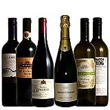 福袋 ワイン名産国周遊 産地と品種の飲み比べ ソムリエ厳選ワインセット 赤3本 白2本 泡1本 750ml 6本