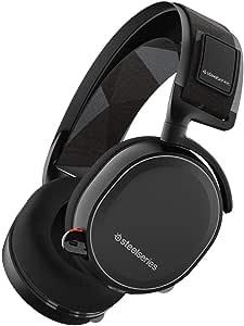 【国内正規品】密閉型 ゲーミングヘッドセット SteelSeries Arctis 7 Black 61463