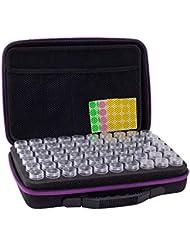 アロマポーチ エッセンシャルオイル ケース 携帯用 アロマケース メイクポーチ 精油ケース 大容量 アロマセラピストポーチ 120本用 サイズ:32 22.5 8.5 CM