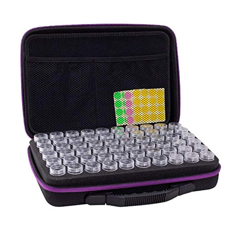 和完璧なテクニカルアロマポーチ エッセンシャルオイル ケース 携帯用 アロマケース メイクポーチ 精油ケース 大容量 アロマセラピストポーチ 120本用 サイズ:32 22.5 8.5 CM