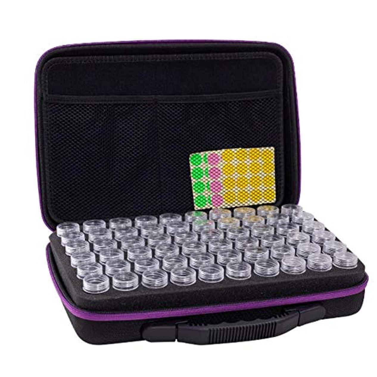 重くするシェフ作詞家アロマポーチ エッセンシャルオイル ケース 携帯用 アロマケース メイクポーチ 精油ケース 大容量 アロマセラピストポーチ 120本用 サイズ:32 22.5 8.5 CM