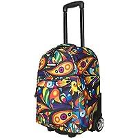 """Bonne ('Bone') Travel Trolley Bag Rolling Wheeled Luggage Travel Cart Soft Suitcase -""""Exuberance"""""""