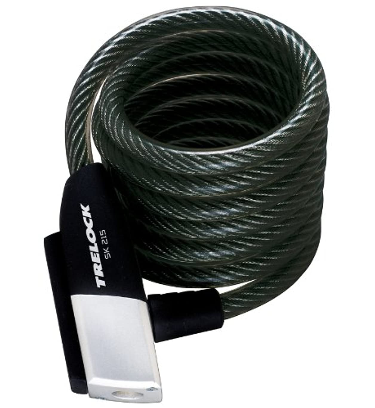 防腐剤メロドラマ以前はTrelock SK 215 Spiral Cable Lock Length 1500 mm 2014 cabel lock by Trelock