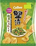 カルビー 堅あげポテト 枝豆にんにく味 60g×12袋
