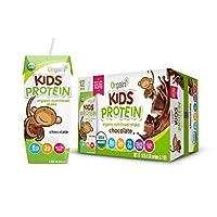 Orgain - 有機性健康な子供は食事の取り替えチョコレートを飲むために用意する - 12パック
