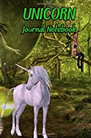 Unicorn Journal Notebook: Daily Journaling - Lined Paper Wide Ruled Notes Spark Your Imagination and Positive Thinking | Cute Unicorn Cover Print