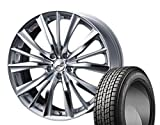 [235/55R20]GOODYEAR / ICE NAVI SUV スタッドレス [2/-][Weds / LEONIS VX (HSMC) 20インチ] スタッドレス&ホイール4本セット ムラーノ(Z51系)
