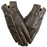 Niksa 手袋 レディース 本革 羊皮 シープスキン 裏起毛 レディースファッション オリジナル 冬でも暖かい 精巧な化粧箱が付き L