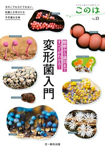 観察から識別まですべてがわかる!  変形菌入門—きのこでもカビでもない、粘菌とも呼ばれる不思議な生物 (生きもの好きの自然ガイド このは No.13)