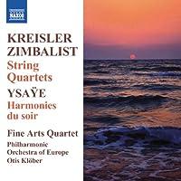 String Quartets/Harmonies Du Soir