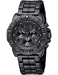 [ルミノックス]Luminox メンズ アメリカ海軍 ネイビーシール カラーマーク クロノグラフ ブラックアウト 3082.BO 腕時計 [並行輸入品]