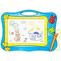 HuaQingPiJu-JP カラフルな落書きは、魔法のスケッチボードに描画する教育おもちゃ