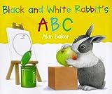 Black and White Rabbit's ABC (Little rabbit)