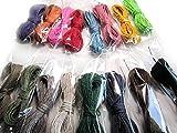 【YAS TRADING】 手芸用 麻紐 【16色 各色10メートル 詰め合せ セット】 麻糸 ヘンプ 糸玉 麻ひも