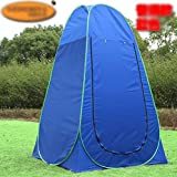 COM-SHOT 【 ワンタッチ 】 折り畳み テント 組立 簡単 設置 コンパクト 簡易 更衣室 レジャー 【 収納 バッグ 付き 】