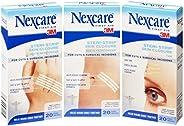 Nexcare Steri-Strip Skin Closure White Reinforced 3mm x 75mm (Pack of 20)