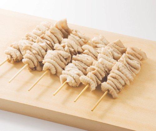 焼き鳥 国産鶏 かわ(皮)串(ボイル) 40g×20本 ジューシーな油がたまらない皮の焼き鳥 バーベキュー、BBQに最適【焼き鳥/焼鳥/やきとり】