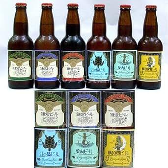 鎌倉ビールよくばりお試し6本セット(月・花・星・江の島・葉山・横須賀): 食品・飲料・お酒
