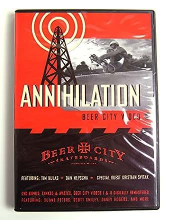 (ビアシティ)BEER CITY SKATEBOARDS DVD Annihilation VIDEO#3 スケートビデオ 映像 スケボー SKATE SK8 スケートボード